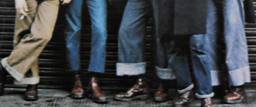 1970s bootboys boot shot